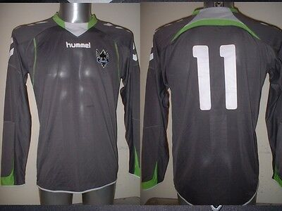 Geneva Hummel L/S Shirt Jersey Trikot Football Soccer Vintage Adult Small Top 11