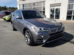 2016 BMW X3 xDrive28i BMW extended warranty to 160000 km incl