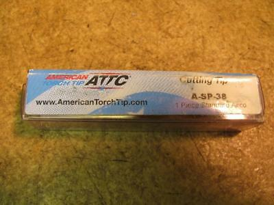 American Torch Tips A-sp-38 Asp38 Cutting Torch Tip For Airco