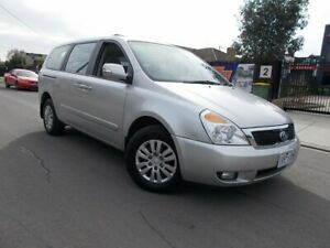 2013 Kia Grand Carnival VQ MY14 S Silver 6 Speed Sports Automatic Wagon Bayswater North Maroondah Area Preview