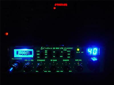 (COBRA 29 LTD CLASSIC NW CUSTOM CB RADIO,SUPERTUNED,SWING KIT,LOUD & POWERFUL!!)