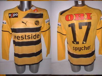 BSC Young Boys BNWT Adult Medium Spycher Puma Shirt Jersey Soccer Maglia Top L/S