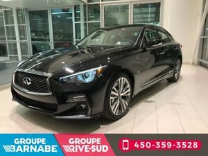 2018 Infiniti Q50 3.0T AWD SPORT TOIT OUVRANT GPS 300HP CLEAROUT