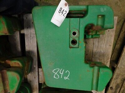 John Deere 30 Series Tractor Suitcase Weight Part R51680 Tag 842