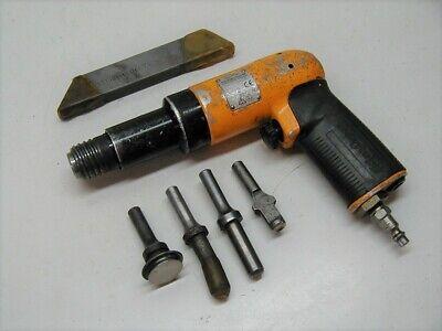 Atlas Copco 3x Recoilless Rivet Gun Riveter Rrh 06p-ts W Bucking Bar Sets