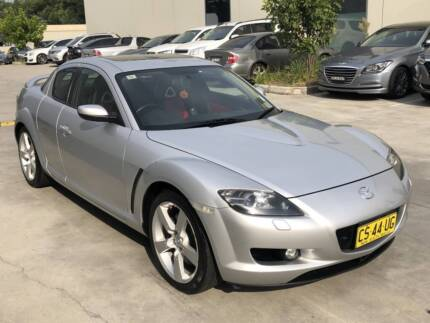 MAZDA RX-8 2005 13B 6 SPEED MAN RED LEATHER ONLY 84000KMS 1 OWNER Castle Hill The Hills District Preview
