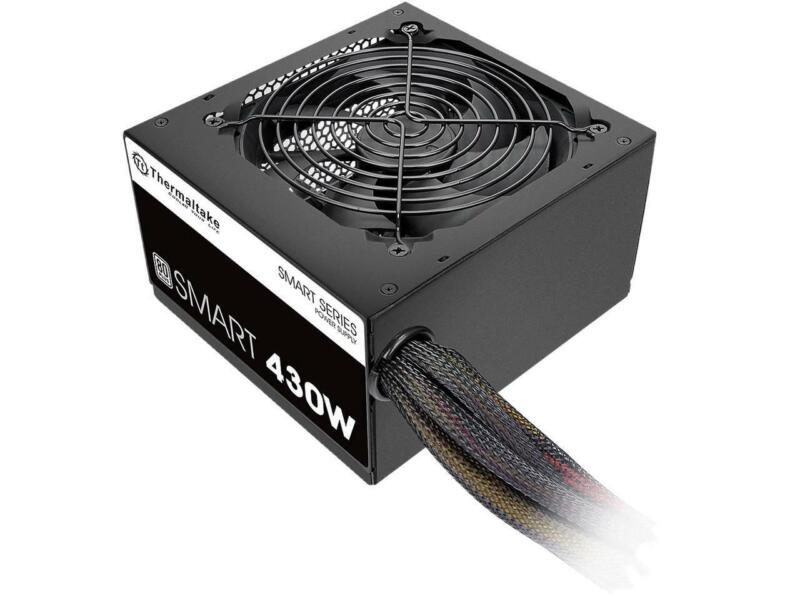Thermaltake Smart Series 430W Continuous Power ATX 12V V2.3 80 PLUS Certified 5