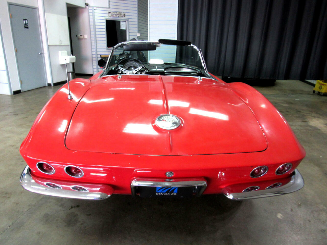 1962 Red Chevrolet Corvette Convertible    C1 Corvette Photo 6