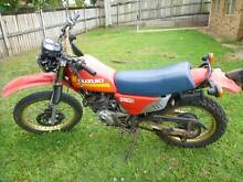 DR250S motorcycle Sippy Downs Maroochydore Area Preview
