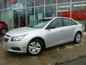 2013 Chevrolet Cruze 16 000KM AUTOMATIQUE  1 PROPRIETAIRE