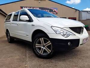 DUAL CAB TURBO DIESEL 4X4*** 2010 Ssangyong Actyon sports Ute!! Woodridge Logan Area Preview