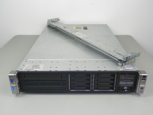 Hp Proliant Dl380p Gen8 G8 2x E5-2690 V2 10-core 3ghz 64gb Server - Raid / Rails