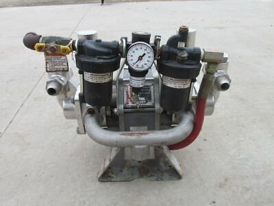 Graco Glutton 220-666 Air Pneumatic Diaphragm Pump Stainless 41 Ratio 6 Gpm