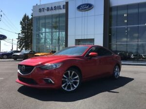 2015 Mazda Mazda6 GT / Cuir / Toit Ouvrant / BOSE 74$ Weekly / 7