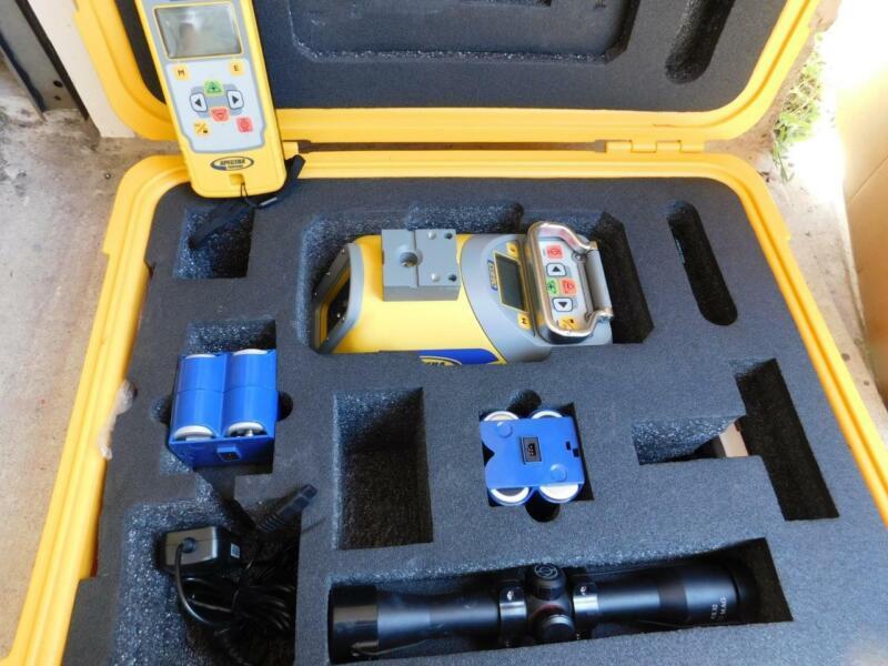 TRIMBLE SPECTRA PRECISION DG613 CONSTRUCTION PIPE LASER