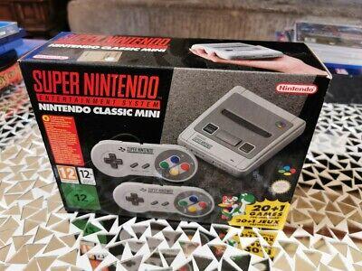 SNES Classic Mini Super Nintendo Entertainment System Console NEW NUOVO