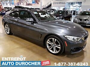2014 BMW 4 Series 428i xDrive - NAVIGATION - TOIT OUVRANT - CUIR
