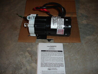 Little Giant Magnetic Drive Water Pump 3-mdx 58 Inletoutlet 7 Gpm 115v New