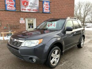 2010 Subaru Forester X Limited/AWD/2.5L/ONE OWNER/NO ACCIDENT/CE