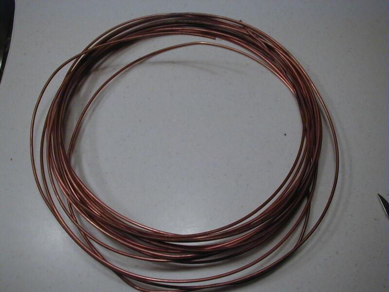 .085 Inch diameter semi-rigid Microwave Hardline Cable 50 feet  length NOS