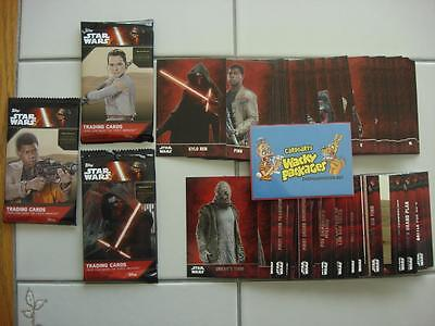 SALE!!! 2015 TOPPS STAR WARS THE FORCE AWAKENS Series 1 COMPLETE SET 100 Cards!