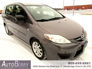 2008 Mazda Mazda5 GS **CERTIFIED ACCIDENT FREE** 6 PASS $4,999