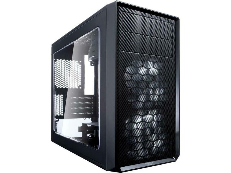 Fractal Design Focus G Mini Black MicroATX Mid Tower Computer Case