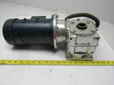 Leeson 098002.00 C42d17fk2a 90vdc 14hp 1750rpm Electric Motor W201 Gear Box