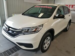 2015 Honda CR-V LX bluetooth bas millage certifié