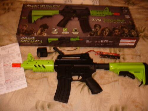 Crosman Undead Apocalypse Airsoft Z79 Inoculator Zombie M4 Rifle AEG 2011 w/ Box