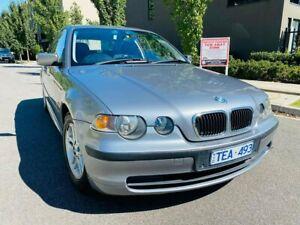 2004 BMW 3 Series E46/5 MY04 316ti Steptronic Silver 5 Speed Sports Automatic Hatchback