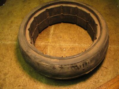 4x12 Cultivator Gauge Wheel Tire John Deere Ford Allis International White