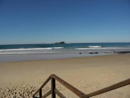 short stay temp accom  opposite beach
