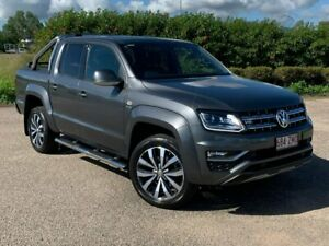 2019 Volkswagen Amarok 2H MY19 TDI580 4MOTION Perm Ultimate Grey 8 Speed Automatic Utility Garbutt Townsville City Preview