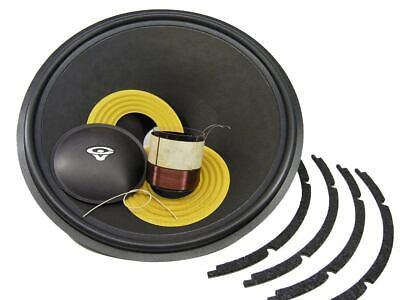 SS Audio for Cerwin Vega Speaker Diaphragm D-420L-4 4 PACK