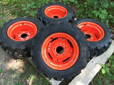 23x8.50-12 Foam Filled Xtra Wall Skid Steer Tireswheels For Bobcat 453463s70