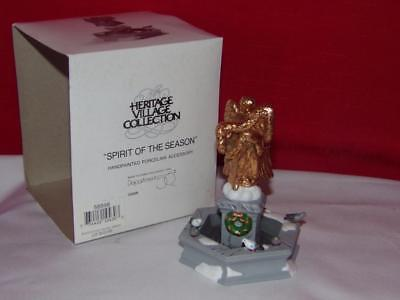 Dept 56  Accessory - Spirit of The Season -MIB
