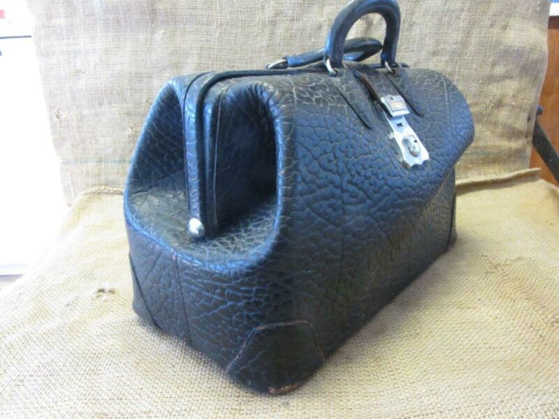 Vintage Kruse Leather Doctor Bag > Antique Doctor