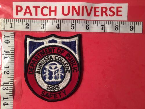 AUGUSTA COLLEGE DEPT OF PUBLIC SAFETY  SHOULDER PATCH  M041
