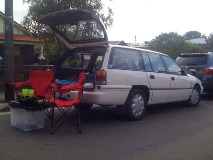 Reliable toyota wagon for travel/sleep in.long rego.bed Woolloomooloo Inner Sydney Preview