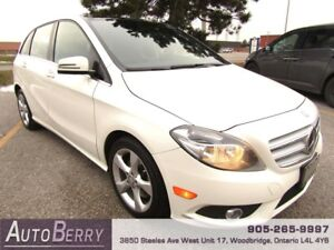 2014 Mercedes-Benz B-Class B250 **CERTIFIED ACCIDENT FREE**