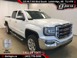 2016 GMC Sierra 1500 SLT 4WD, 2 INCH LEVELING KIT, HEATED/COO...