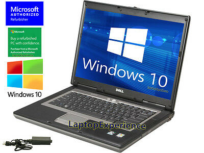 Dell Laptop Latitude Dual Core 1 6Ghz Windows 10 Cdrw Dvd Wifi Notebook Computer