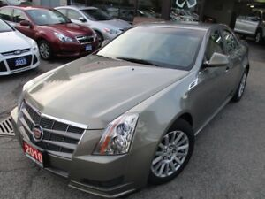 2010 Cadillac CTS 3.0L-AWD-LEATHER-BLUETOOTH-HETAED