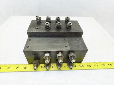 16 Port Steel Hydraulic Manifold
