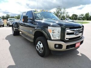 2014 Ford F-350 King Ranch. Diesel. 4X4. Leather. Loaded