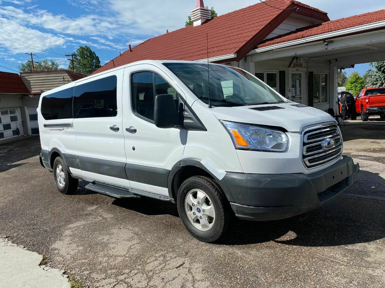 2018 Ford Transit Passenger, White with 29753 Miles available now!