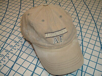 Abercrombie & Fitch Gray Baseball Cap Hat StrapBack Cotton One Size