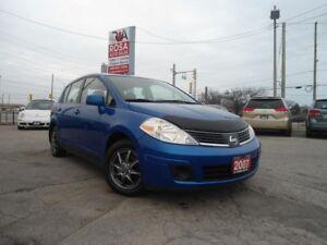 2007 Nissan Versa AUTO 5 DR HATCH PW PL PM GAS SAVER SAFETY A/C