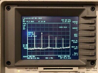 Newscope-0jr Lcd Kit For Hp 8591a 8593a 8594a 8595a Spectrum Analyzer